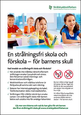 Kampanjen: Strålningsfri skola och förskola