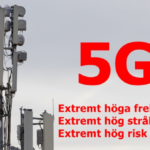 Värna folkhälsan Stoppa 5G – Demonstration i Stockholm