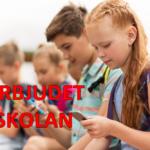 Frankrike förbjuder mobiler i skolorna