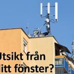 Mobilbasstationer sänder ut mikrovågsstrålning
