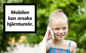 Mobilstrålning orsakar hjärntumör – sambandet klart