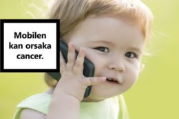 Mobilstrålning orsakar DNA-skador och tumörer i största studien