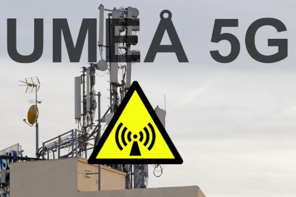 Strålskyddsstiftelsen informerar ansvariga för Umeå 5G