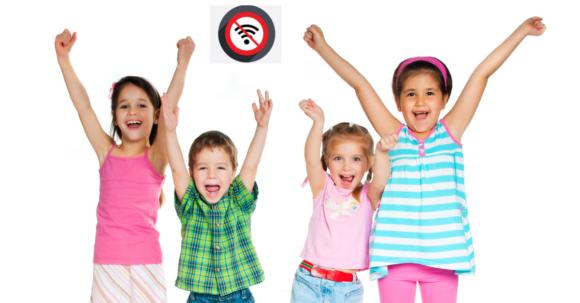 Förskola blir strålningsfri utan WiFi och mobiler
