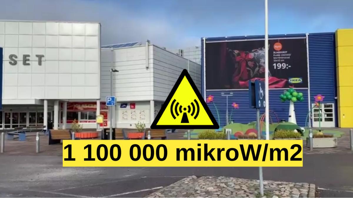Farliga nivåer av strålning visar nya mätningar