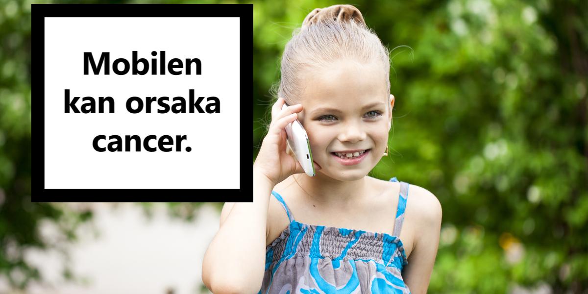 """Expertpanel: """"Klara belägg"""" för att mobilstrålning orsakar cancer"""